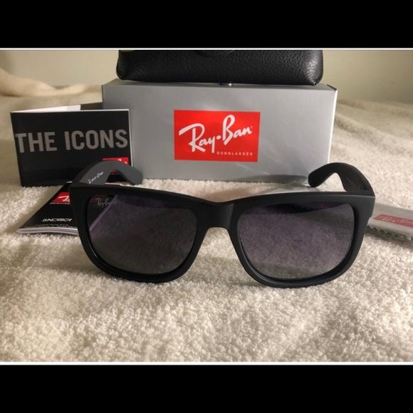 c7ea38bd1b Ray Ban Justin Classic Polarized Lenses RB4165